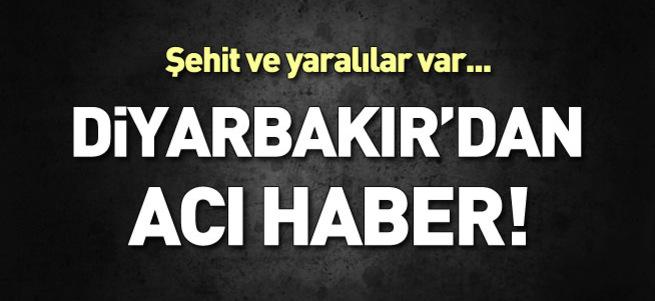 Diyarbakır'da 6 şehit!