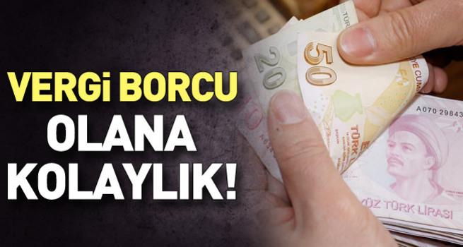 Vergi borcu kartla ödenecek