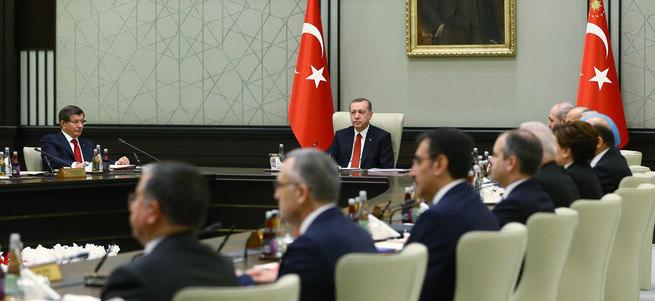 Bakanlar Kurulu Cumhurbaşkanlığı Külliyesi'nde toplandı
