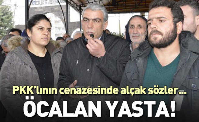 Dilek Öcalan PKK'lının cenazesine katıldı!