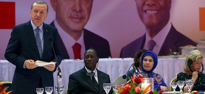 Erdoğan: Fildişi Sahili, Sahra Altı Afrika ile ilişkilerimizin mihenk taşıdır
