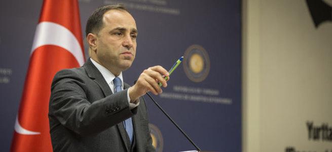Dışişleri'nden Türkiye ateşkesi ihlal etti iddiasına yanıt
