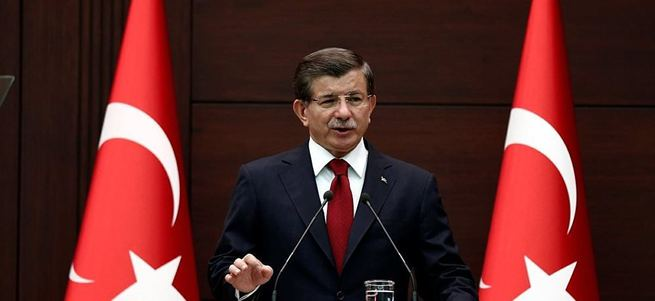 Başbakan Davutoğlu'ndan anayasa mektubu!
