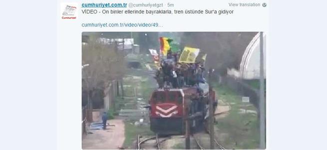 Cumhuriyet'ten PKK provokasyonu!