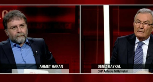 Deniz Baykal'dan Ahmet Hakan'a rest!