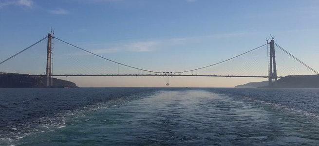 Üçüncü köprünün iki yakası birleşti