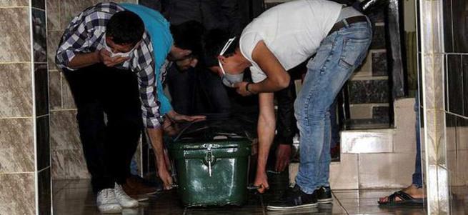 Gaziantep'te otel odasından 4 günlük ceset çıktı