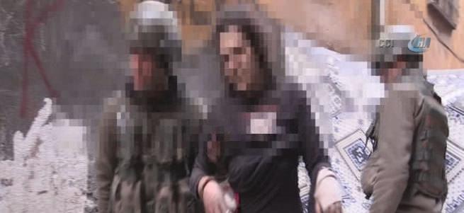 Sur'da teslim olan teröristlerin görüntüleri paylaşıldı