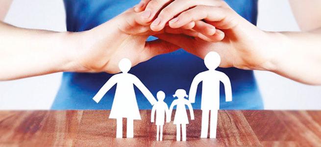 Aile içi şiddete beşli kalkan