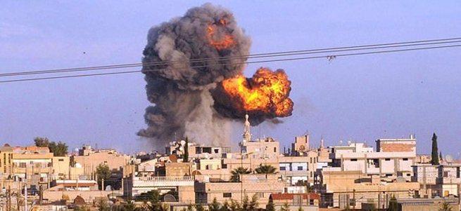 Suriye'den atılan havan mermisi Kilis'te askeri lojmana isabet etti
