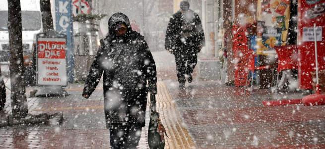 Hava durumu sert düştü kar geliyor!