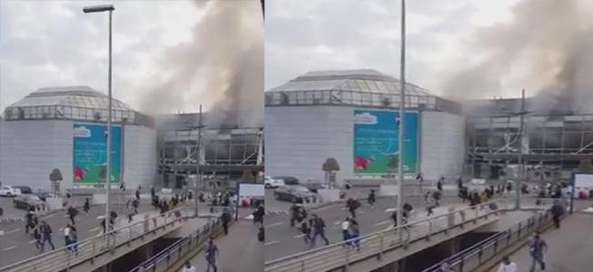 Brüksel Havalimanı'nda patlama