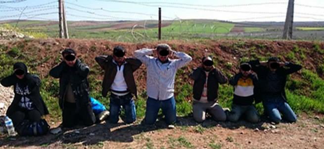 Sınırda DAEŞ'li canlı bomba yakalandı!