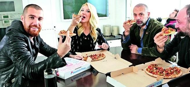 Pizza reklamına kola davası açtı