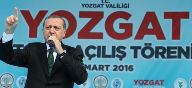 Cumhurbaşkanı Erdoğan Yozgat'ta toplu açılış töreninde konuştu