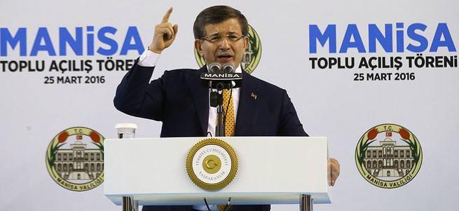 Davutoğlu: Karamandaki caniye gereken cevabın vereceğiz
