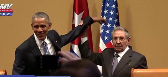 Çek o elini Obama!