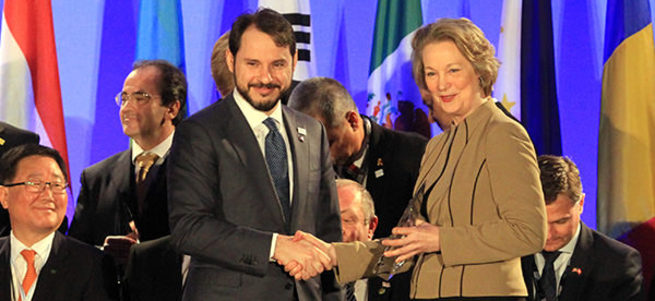 Washington'da Türkiye'ye Barış Atomları Ödülü