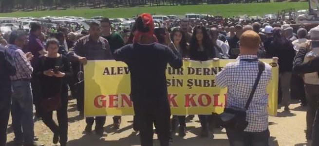 Kahramanmaraş'taki Suriyeli karşıtı eylemde ilginç slogan