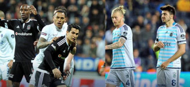 Beşiktaş ve Fenerbahçe'nin kader maçları