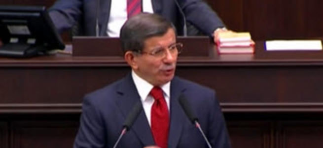 Başbakan Ahmet Davutoğlu grup toplantısında konuşuyor - CANLI