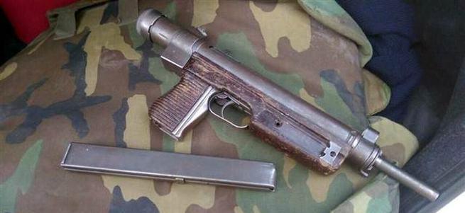 Torbacılardan otomatik silah çıktı
