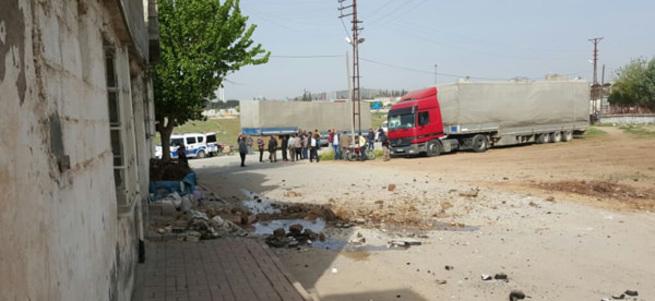 Kilis'e 2 roket mermisi düştü: 1 yaralı
