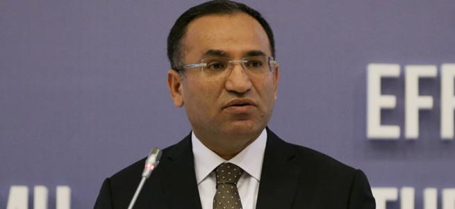 Adalet Bakanı Bozdağ: Sınırlama getireceğiz