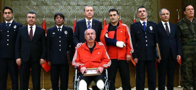 Cumhurbaşkanı Erdoğan: Yerli ve milli polis teşkilatı inşa ediyoruz