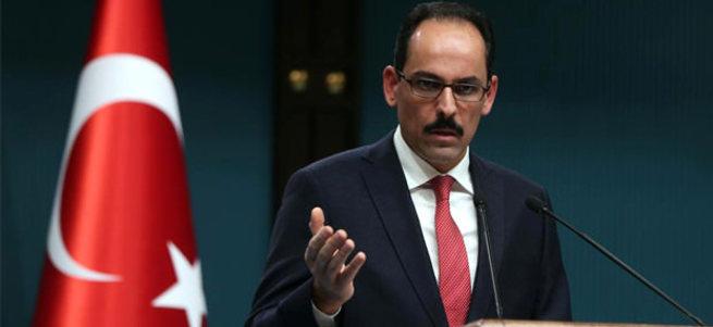 Cumhurbaşkanlığı Sözcüsü Kalın: Ruhani Türkiye'ye gelecek