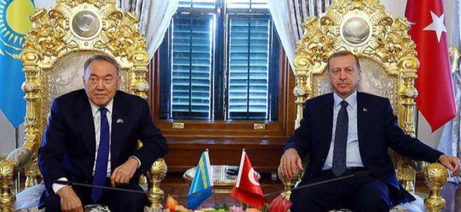 Erdoğan ve Nazarbayev'den ortak bildiri