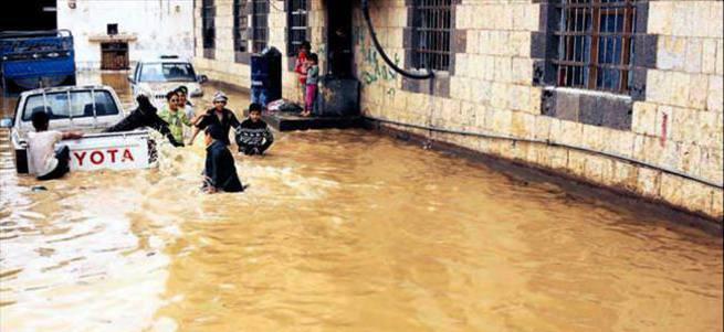 Suudi Arabistan ve Yemen'de sel: 42 ölü