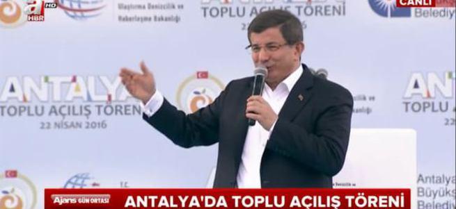 Başbakan Ahmet Davutoğlu konuşuyor- CANLI