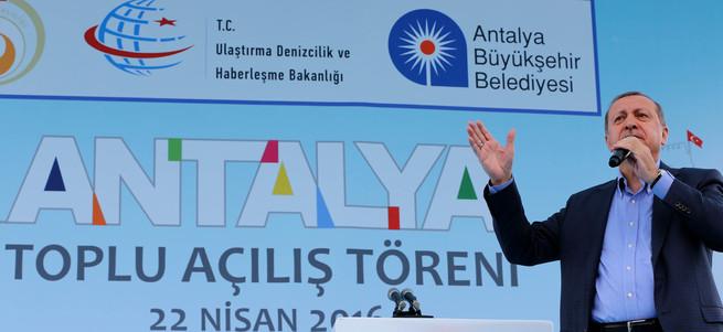 Erdoğan: EXPO 2016 Türkiye'nin en büyük kongre merkezi olacak