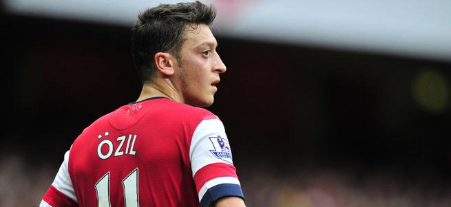 Mesut Özil Premier Lig'de rekor kırdı