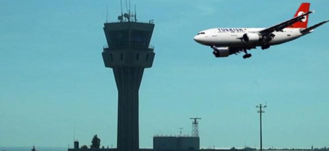 THY uçağı boşaltıldı! Arama yapılıyor