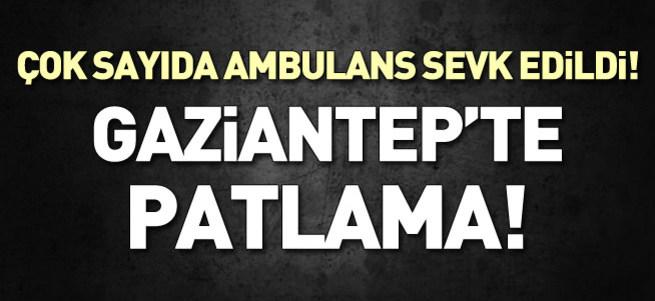 Gaziantep Emniyet Müdürlüğü önünde patlama!