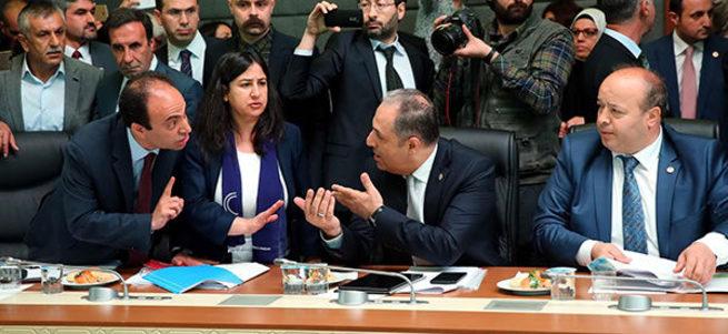Meclis'te HDP terörüne izin verilmeyecek