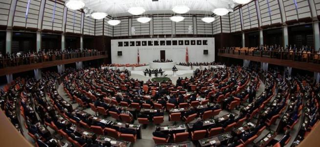 HDP'li kadın vekiller Meclis'te terör estirdi