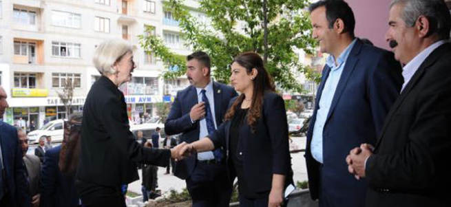 ABD konsolosu HDP'lileri ziyaret etti!