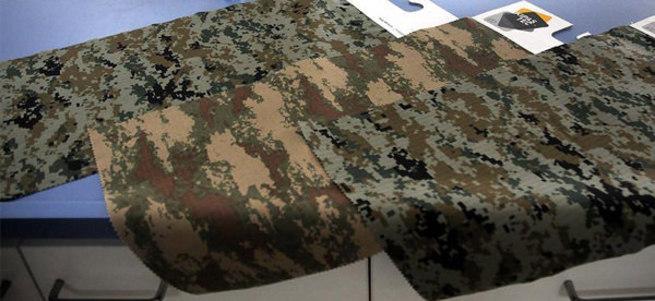 Kahramanmaraş'ta kurşun geçirmez kumaş üretildi
