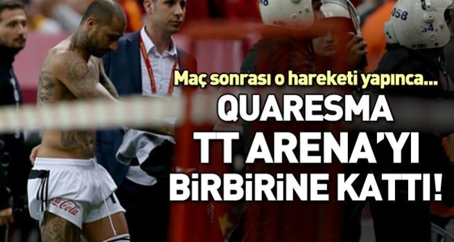 Quaresma TT Arena'yı karıştırdı