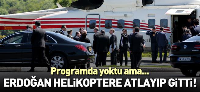 Cumhurbaşkanı Erdoğan büyük projeleri denetledi!