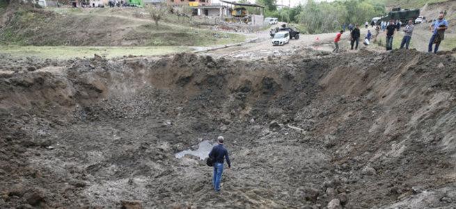 Diyarbakır'daki patlama sonrası 12 köylü kayıp