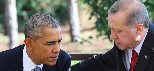 Cumhurbaşkanı Erdoğan ABD Başkanı Obama ile telefonda görüştü