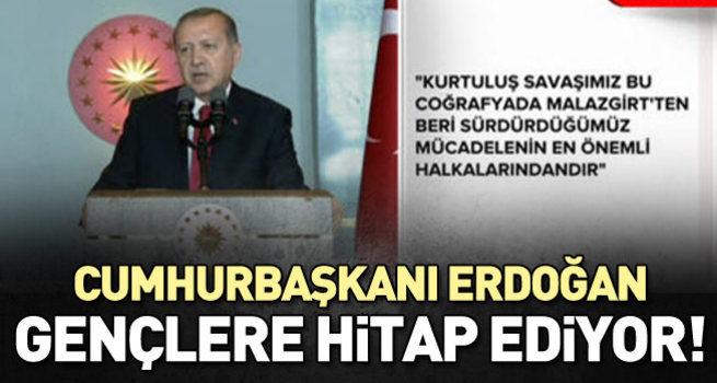 Cumhurbaşkanı Erdoğan konuşuyor-CANLI