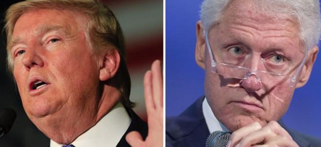 Trump, Bill Clinton için 'tecavüzcü' dedi