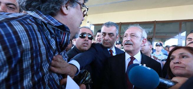 Kılıçdaroğlu'na ikinci protesto
