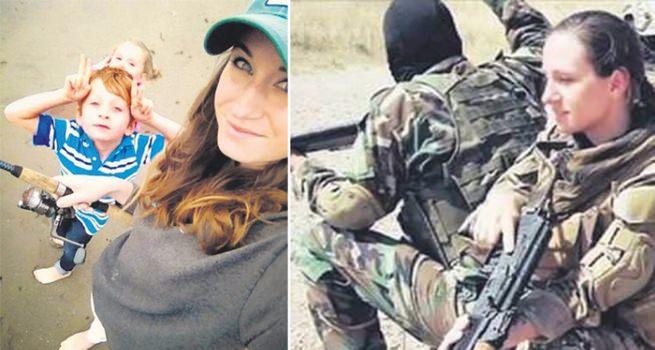 3 çocuğunu ABD'de bırakıp YPG'ye katıldı!