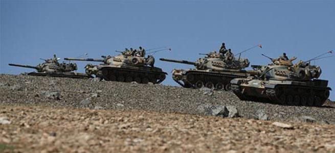 Türk askeri Nusaybin yakınlarından Suriye'ye girdi iddiası